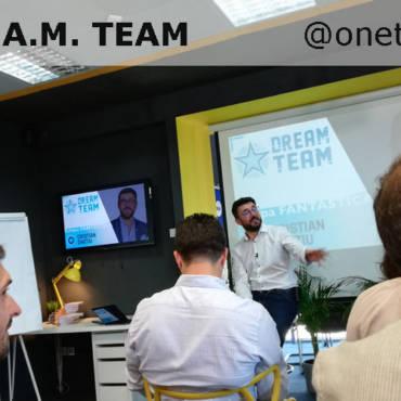 D.R.E.A.M Team. Echipa in calea catre succes